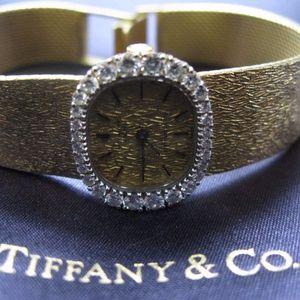 Tiffany & Co 18Kt Patek Philippe Diamond Watch Yel